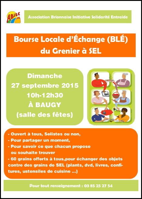 Bourse Locale D Echange Du Grenier A Sel